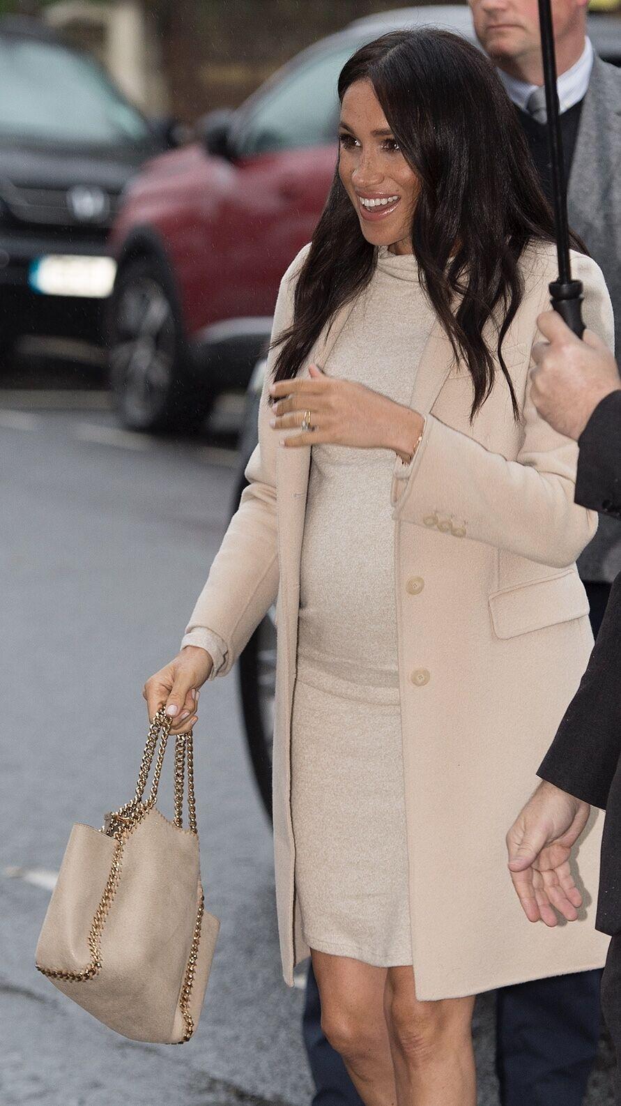 Wearing Stella Markle The Duchess Meghan Of Sussex A Mccartney TK1lFJc