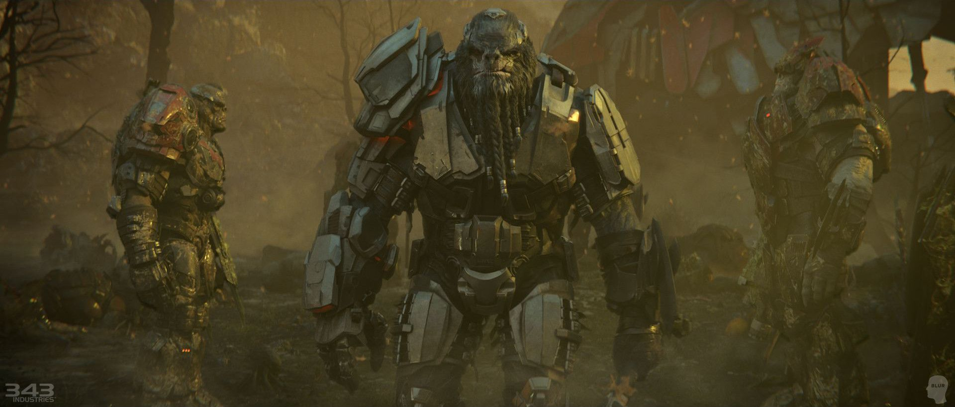 ArtStation - Halo Wars 2 - Awakening the Nightmare , Keith