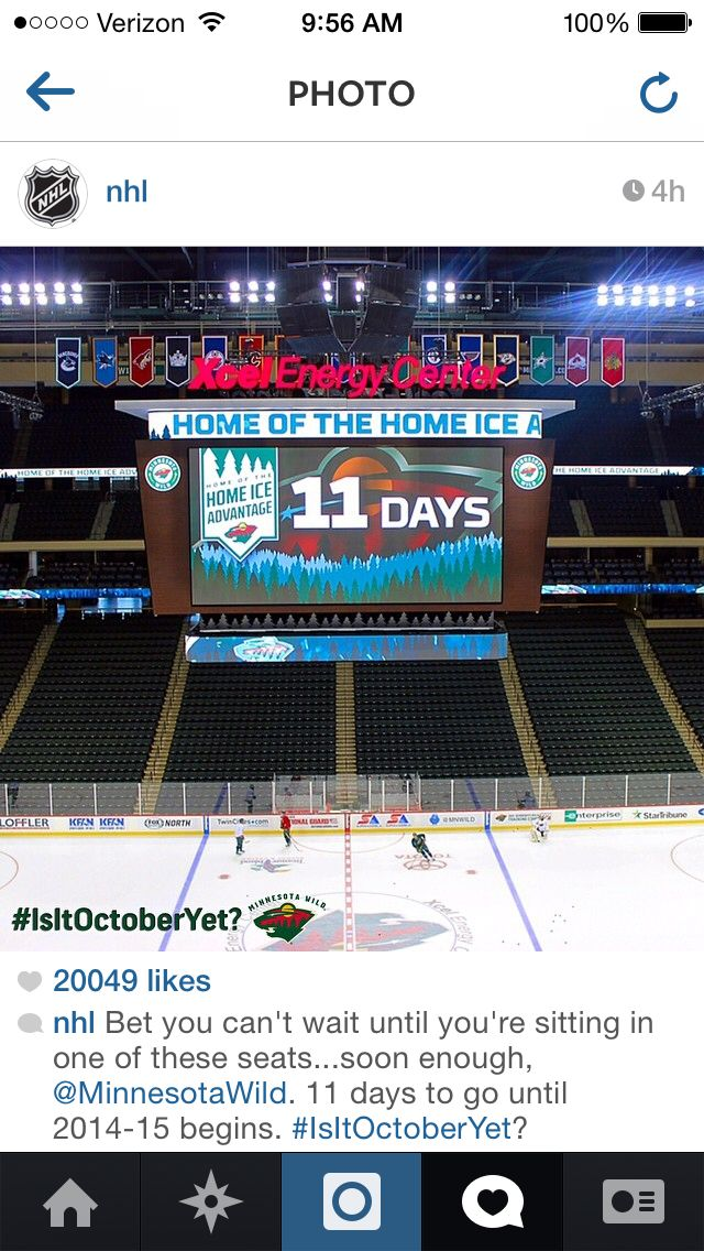 Whoop Whoop 11 More Days Day Red Wings Photo