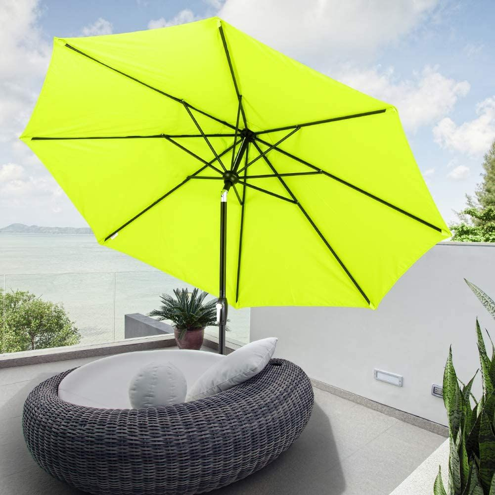 pin on green umbrella