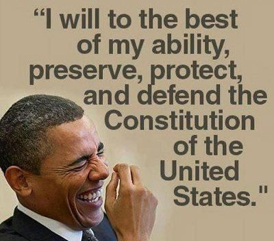 Obama And The Constitution  Interesting Perspective