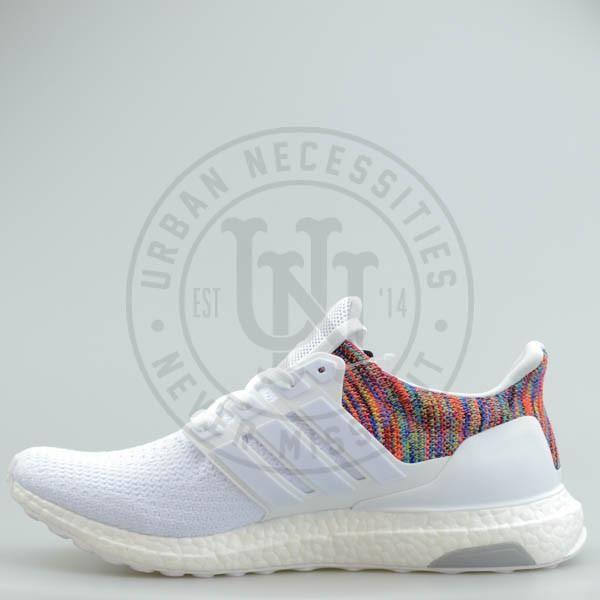 072b9cef5615 Mi Adidas Ultra Boost  Rainbow  White-Urban Necessities