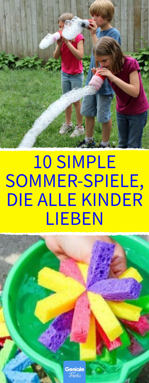 10 simple sommerspiele die alle kinder lieben 10