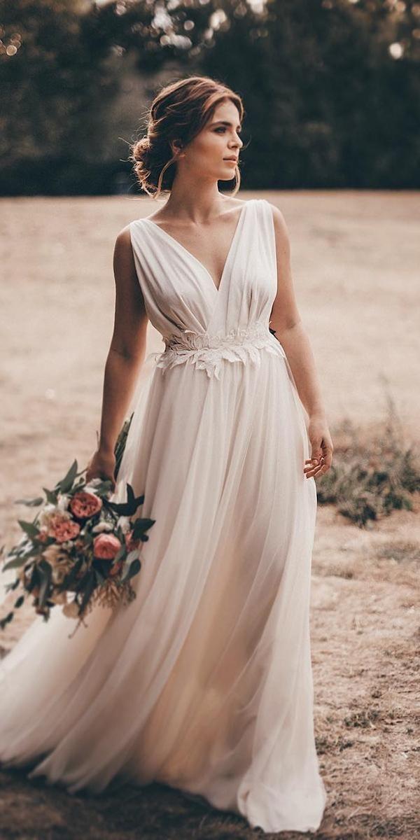 21 mejores vestidos de novia griegos para un look glamoroso  – Boda fotos