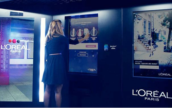 L'Oréal introduceert make-up automaat in New York