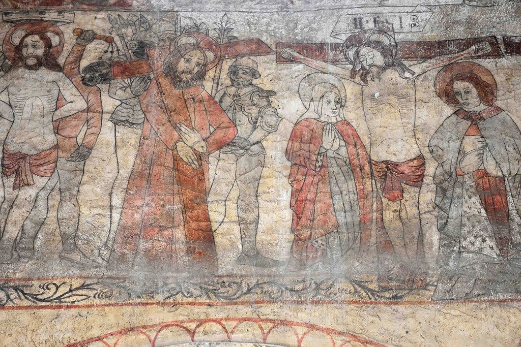 Image result for pickering church wall paintings church