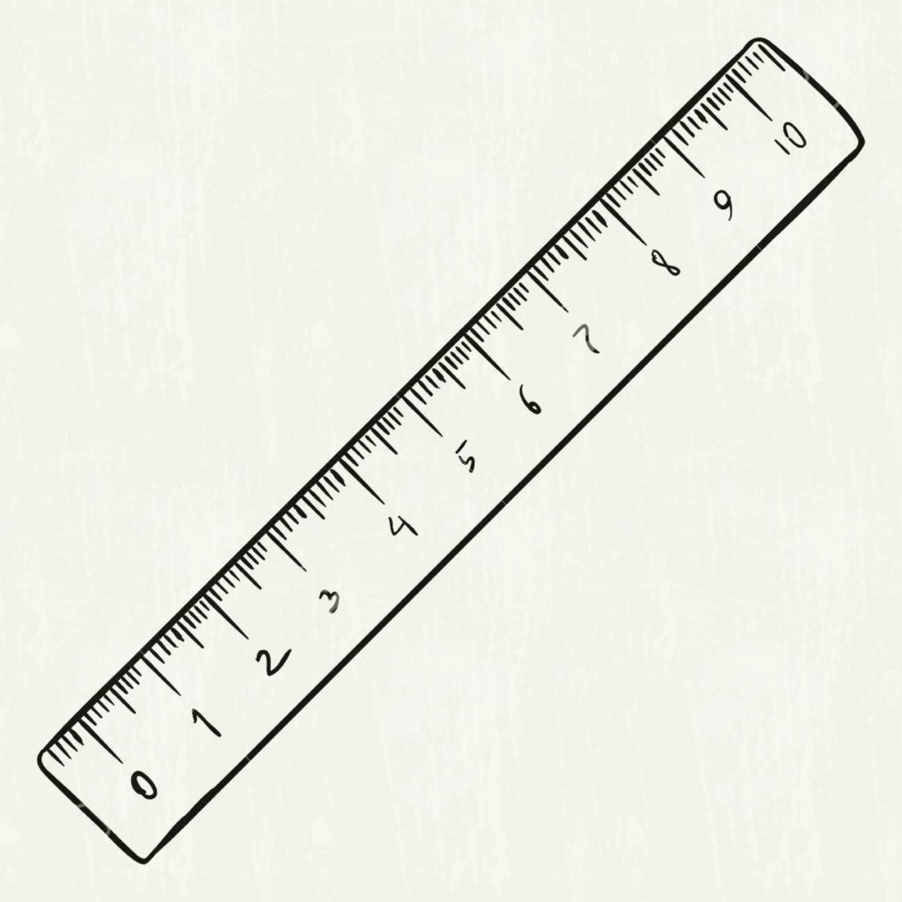 12 Inch Ruler Clipart Black And White Clipart Black And White