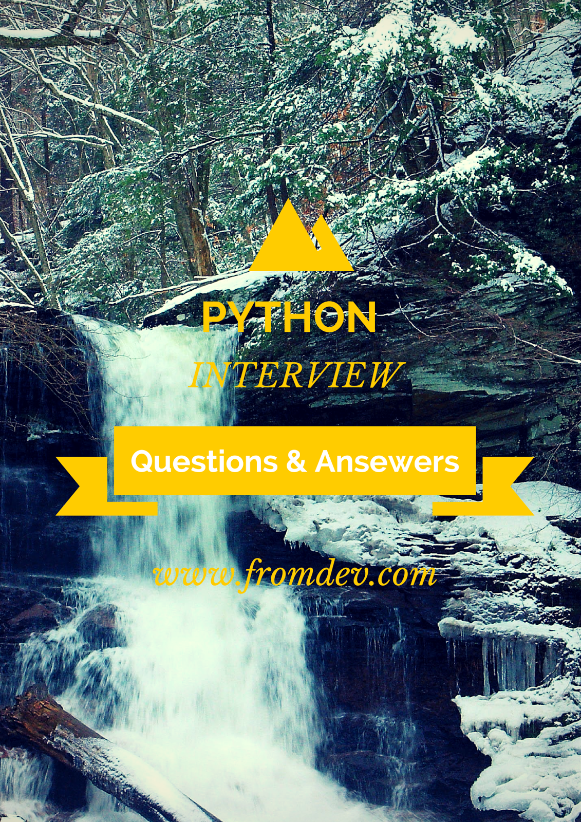 100 Python Interview Questions & Answers PDF : Free Download