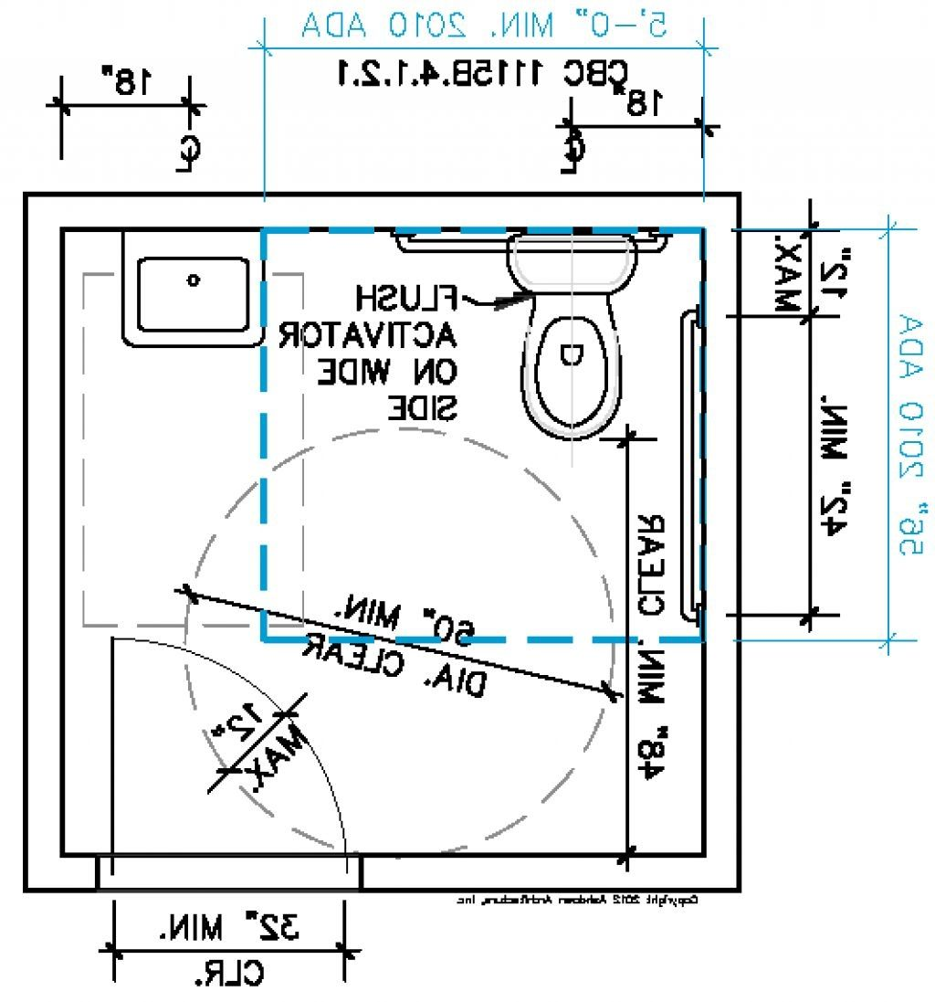 Ada Bathroom Dimensions 2014