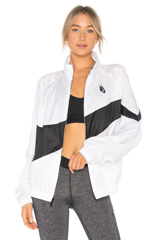 promo code 6b705 ccebc Nike Lab NRG Heritage Jacket в цвете Белый   Черный   REVOLVE