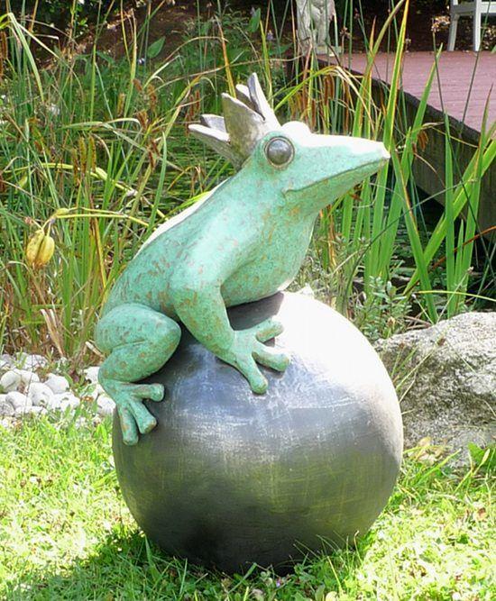 Keramik Kunst Für Den Garten der froschkönig für den garten   keramik kunst blog   pottery - fish