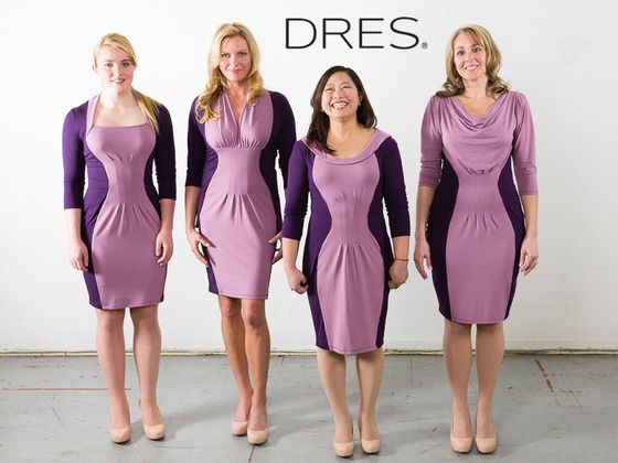 pin it to win it free dress dres clothing for your body shape by