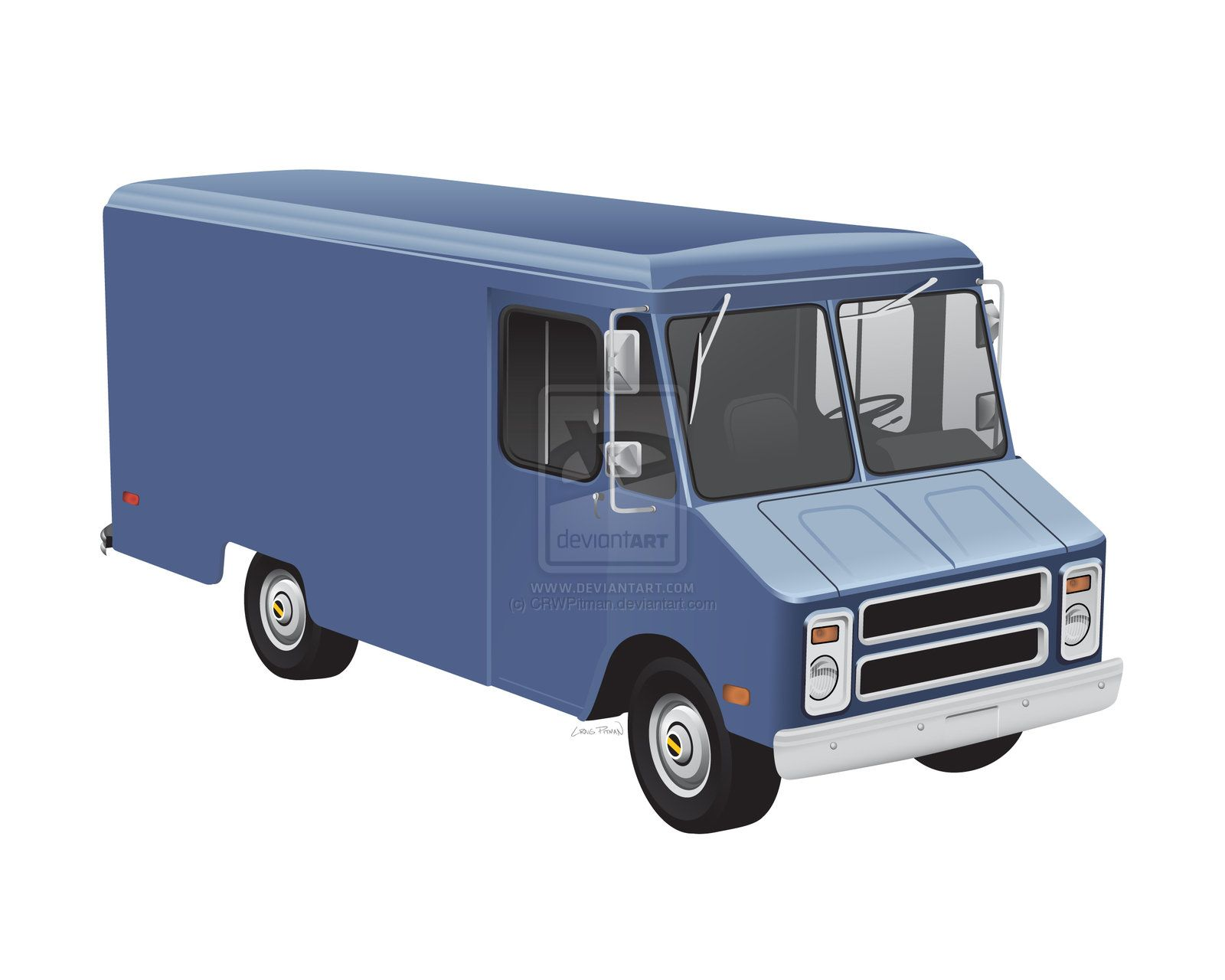 A gmc step van i used to love these trucks when i was a kid so i drew one from the late edit this was