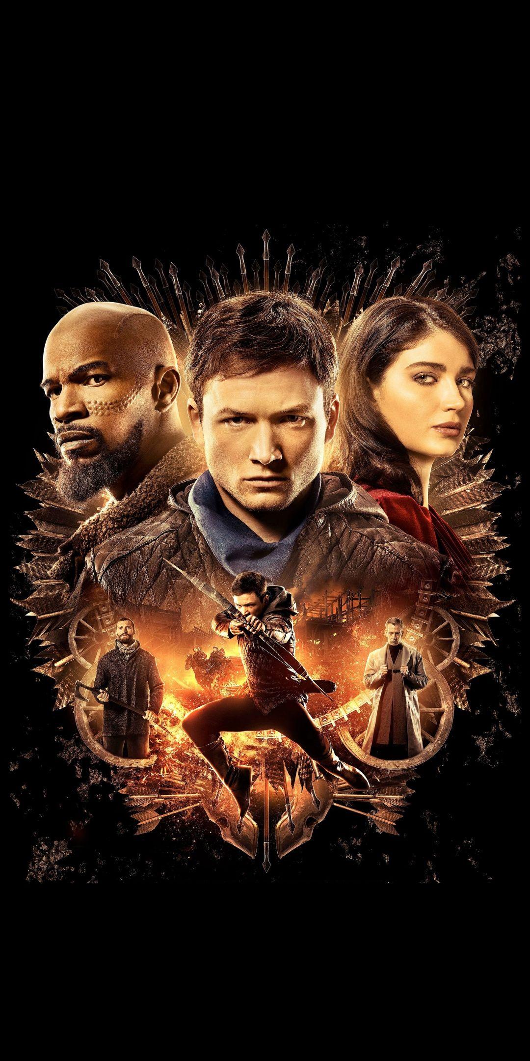 Robin Hood Movie Poster 2018 1080x2160 Wallpaper Robin Hood Hood Wallpapers Movie Posters