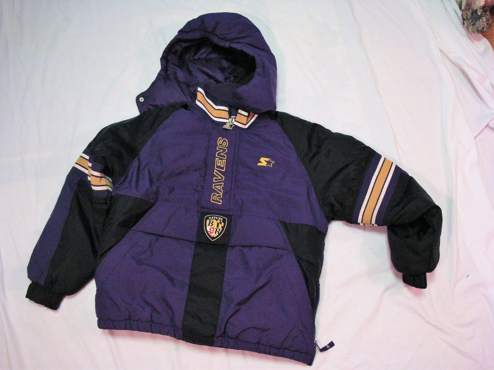 best sneakers 82b2e 2801d Baltimore Ravens NFL Pro Line Youth L Pullover Starter ...