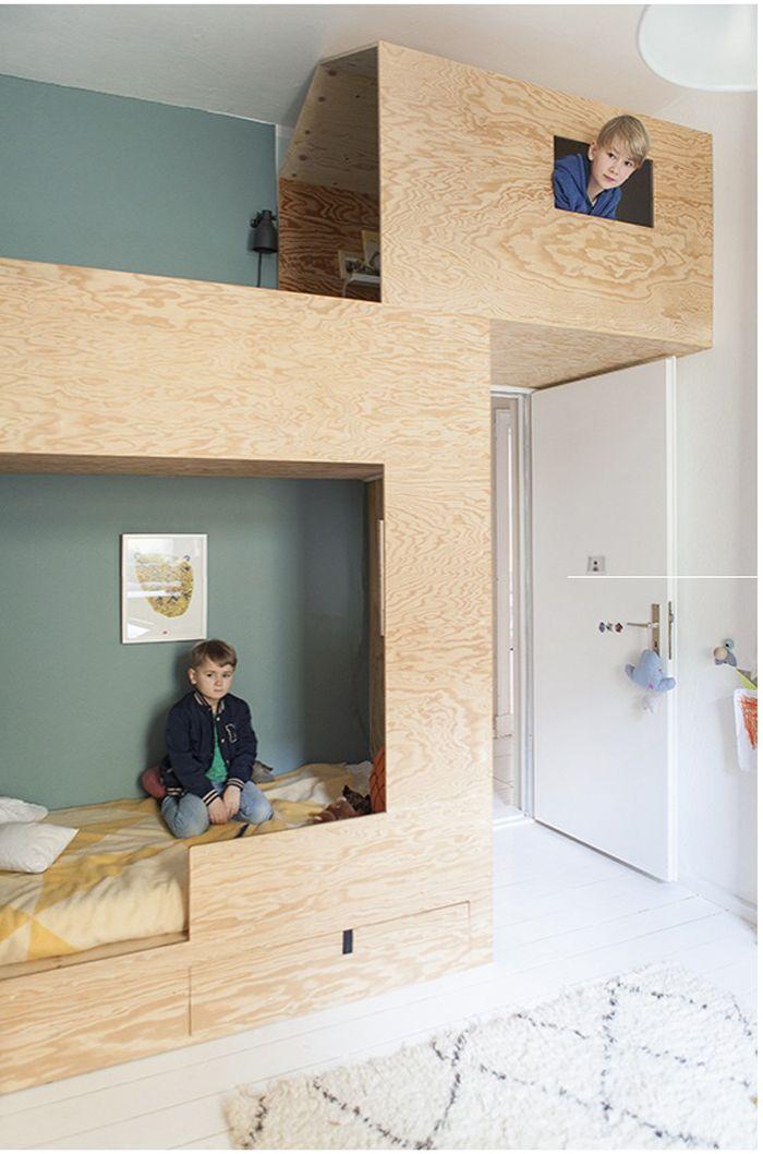 kinderkamer-inspiratie-origineel-bed-speelhuisje-07.jpg (700×1058 ...