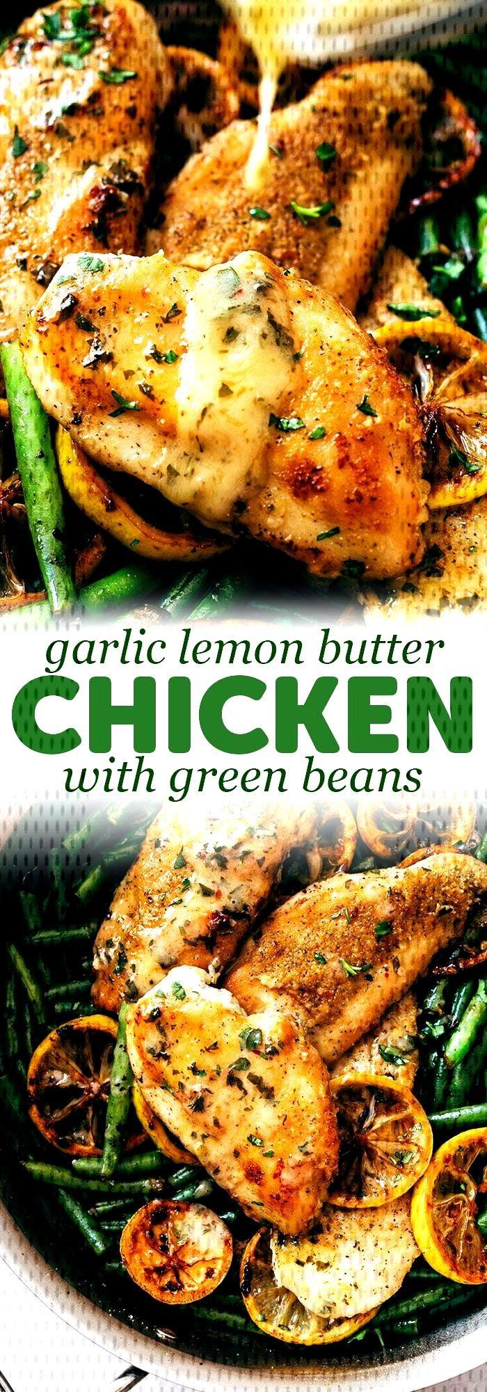 Skillet Garlic Lemon Butter Chicken Recipe | Little Spice Jar#butter