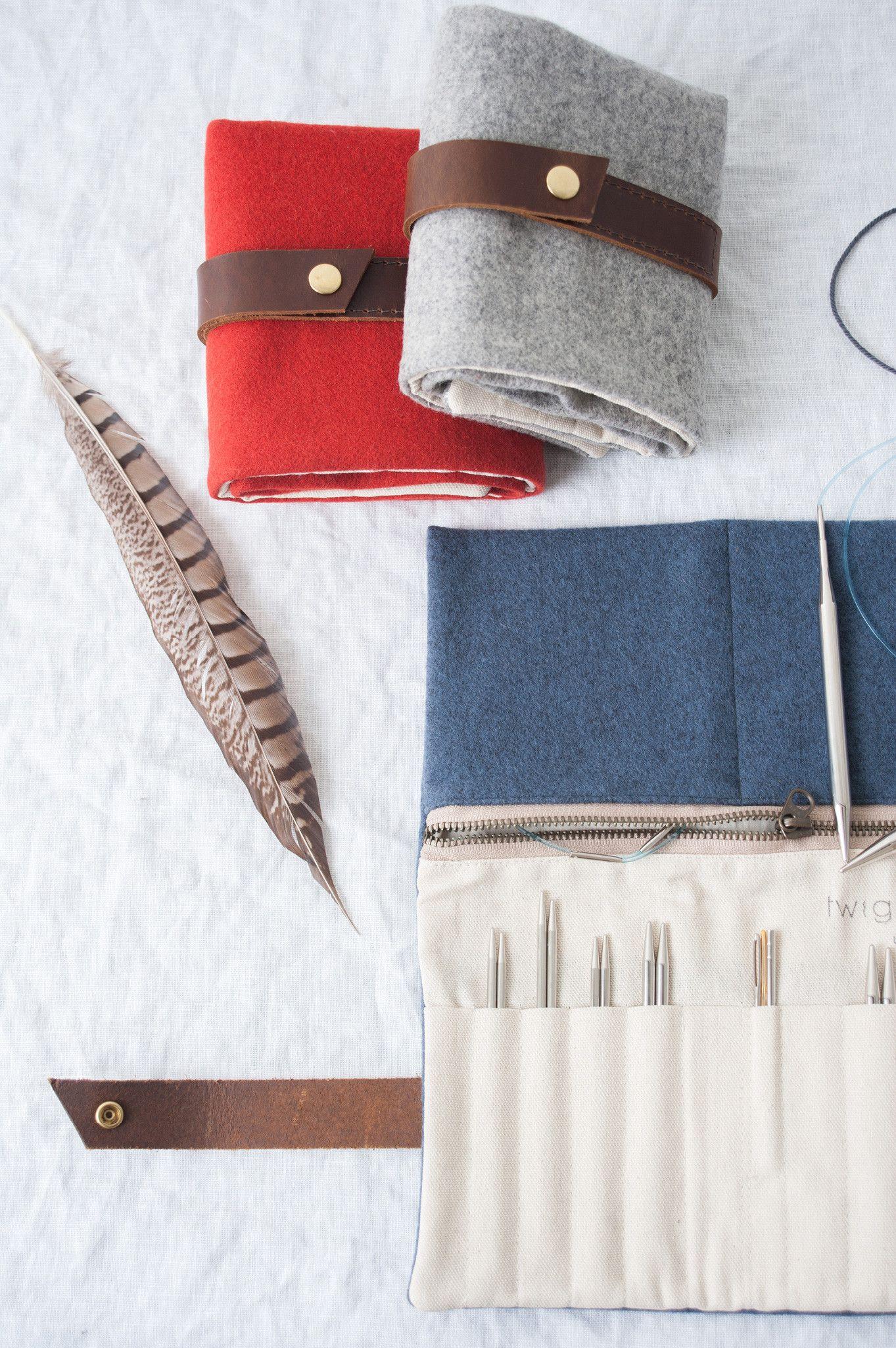 interchangeable needle case | Knitting needle case, Diy ...