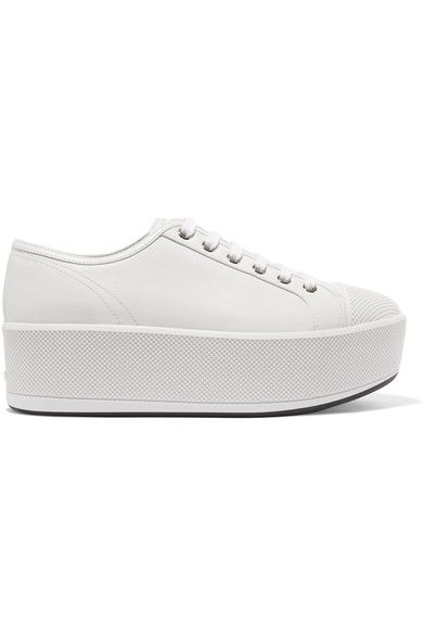 sale how much authentic cheap online Prada Sport Flatform Low-Top Sneakers w/ Tags discount under $60 for sale cheap authentic SLFNmPoTQ