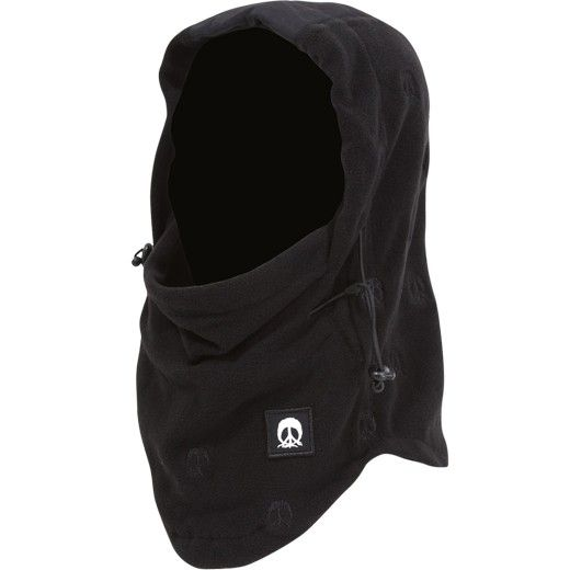 4c786218c29 Gnarly Face Mask Hood Black