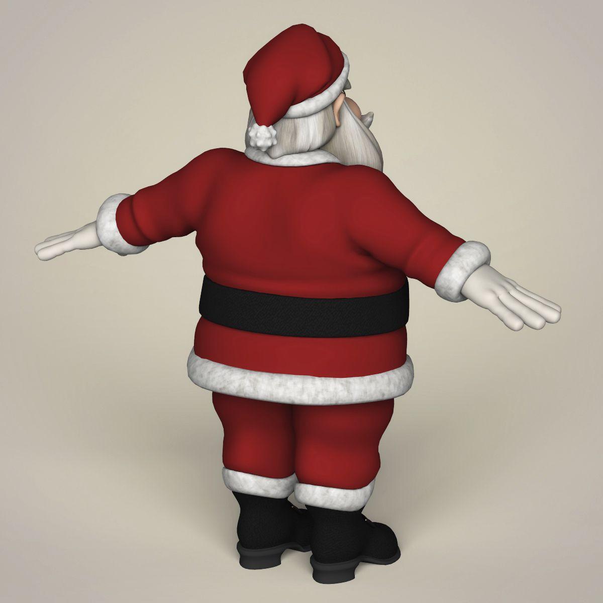 Santa Claus Cartoon Cartoon Santa