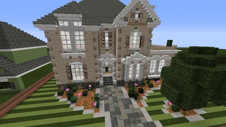 Minecraft Victorian House Blueprints