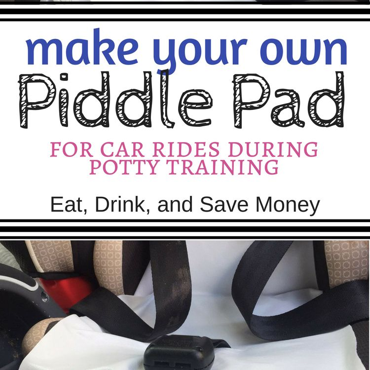 Potty Training Tip: DIY Piddle Pad for Car Rides | Car seats and Cars