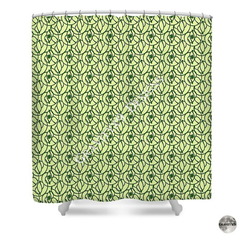 St Patrick S Day Clovers Shower Curtain For Sale By Gravityx9