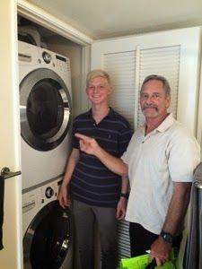 さとうあつこのハワイ不動産 Inspection 2 Hawaii Real Estate Washer And Dryer Stacked Washer Dryer