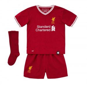 158da1fe2b8 Kids Liverpool FC 2017-18 Season Home LFC Whole Kit  K224