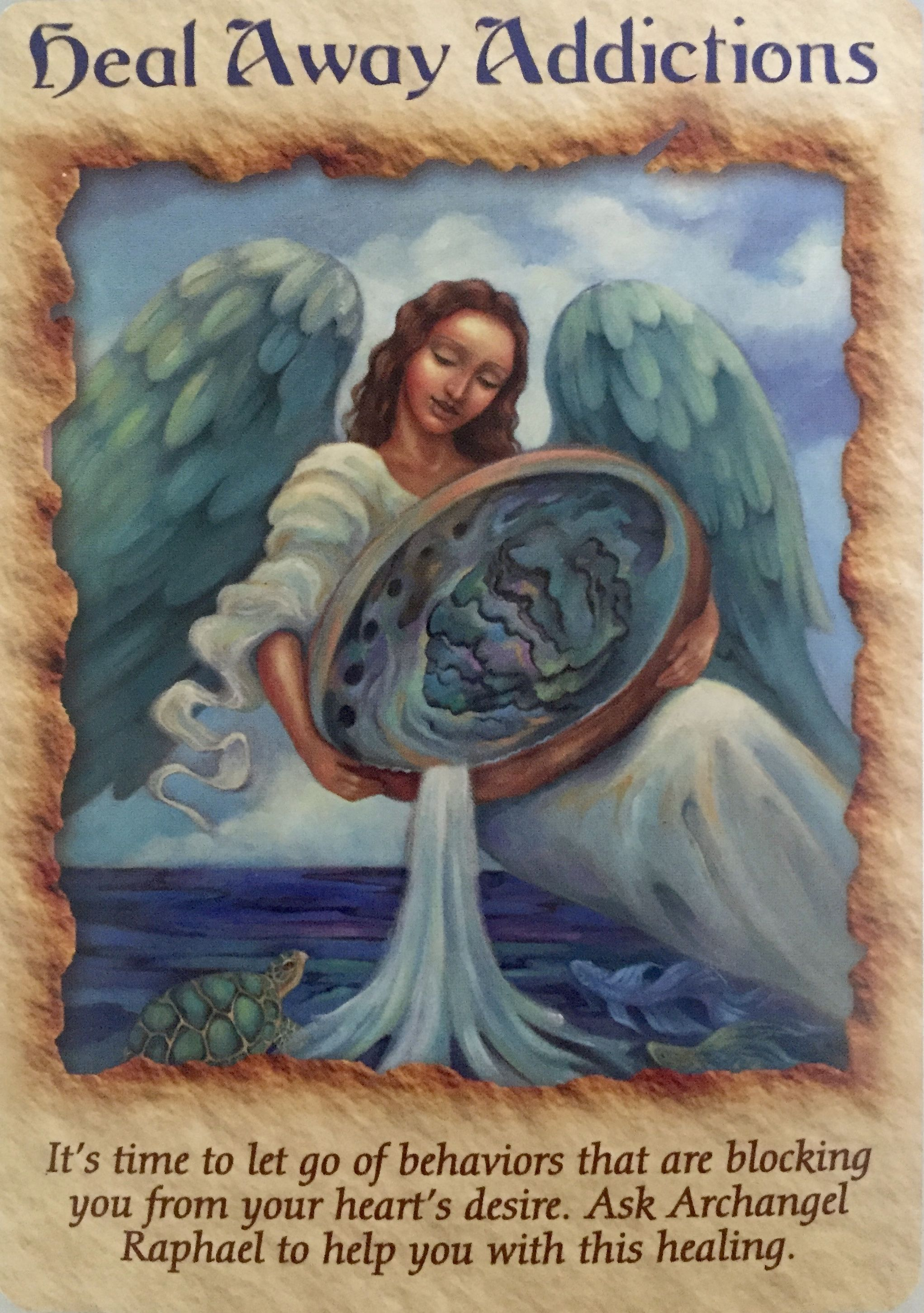 From The Doreen Virtue Angel Therapy Oracle Card Deck Mensajes