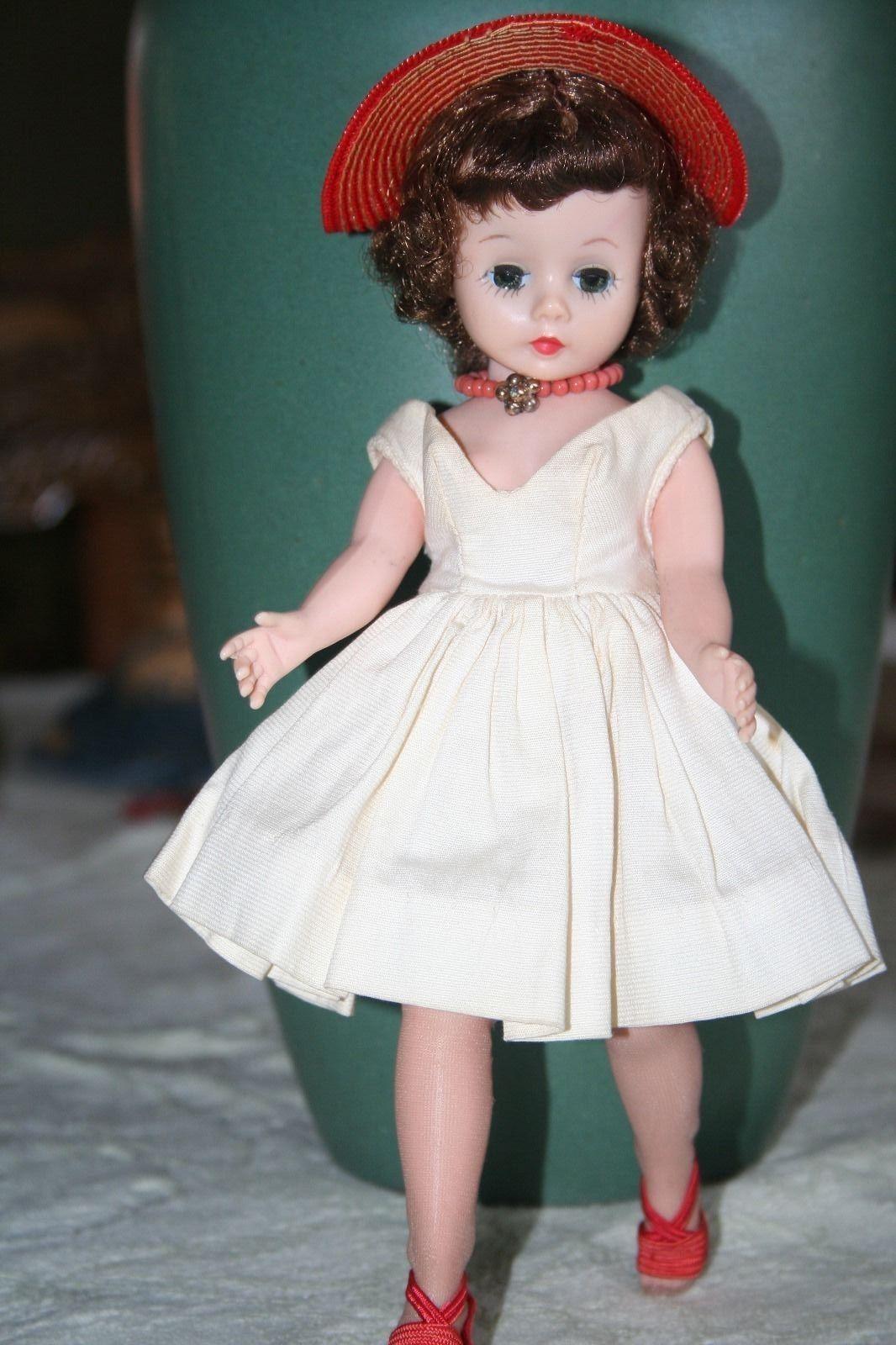 Lovely Vintage Cissette Doll Madame Alexander Red Hat