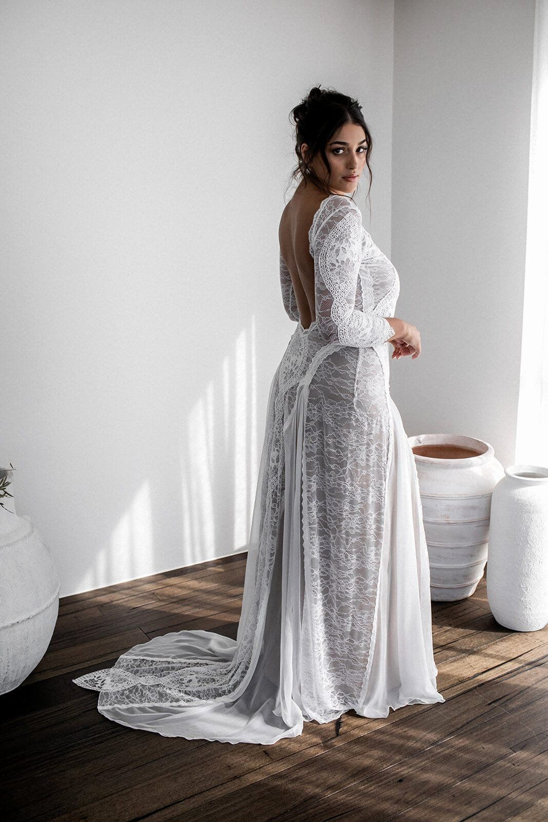 How Much Does It Cost To Dry Clean Wedding Dress Lovely Inca In 2020 Casual Lace Wedding Dress Wedding Dress Cost Clean Wedding Dress