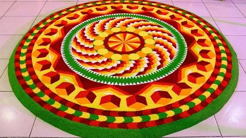 5 Simple Athapookalam Designs with Images   Styles At Life ...