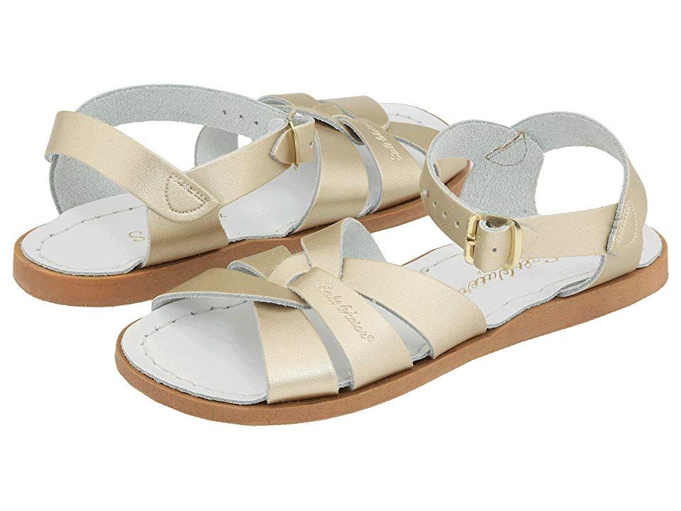 053cc3c368ee3 Salt Water Sandal by Hoy Shoes The Original Sandal (Toddler/Little Kid)  Girls Shoes Gold