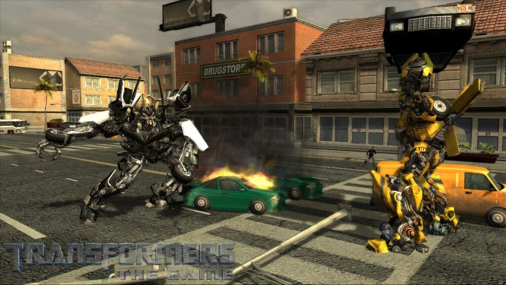Transformers The Game Screen shot
