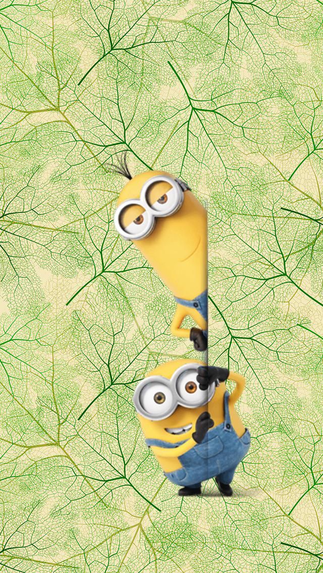 Обои iPhone wallpaper minions มินเนี่ยน, วอลเปเปอร์