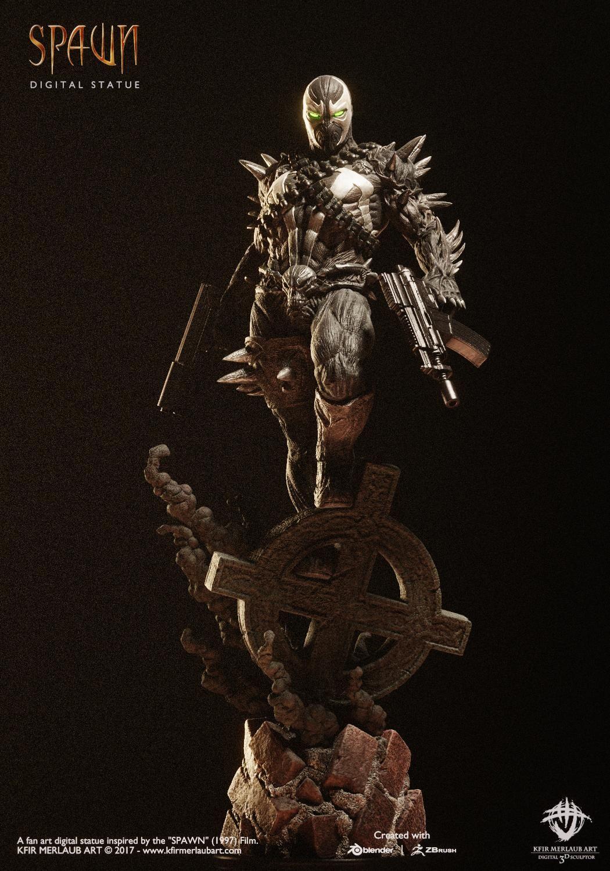 Spawn Statue Kfir Merlaub Art & Haunt Toys