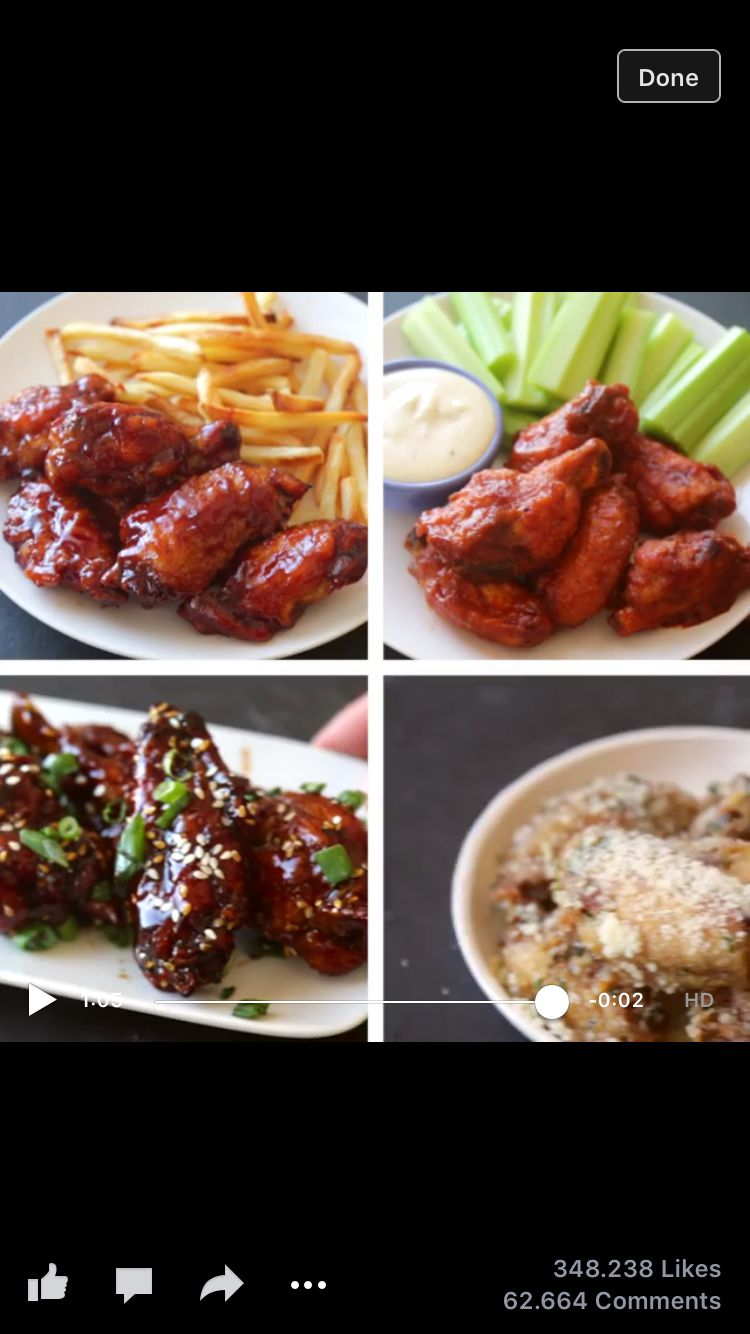Chicken wings 4 ways fooddrink pinterest foods recipes and chicken wings 4 ways forumfinder Images