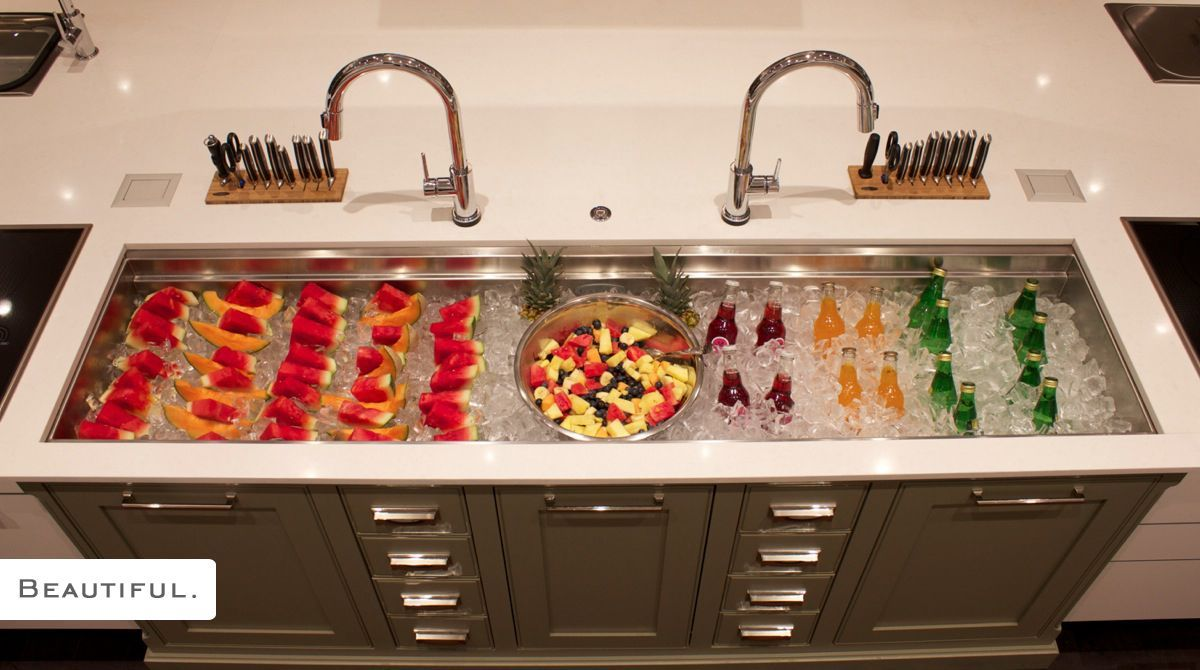 The Galley Can Also Be Used As A Cooler