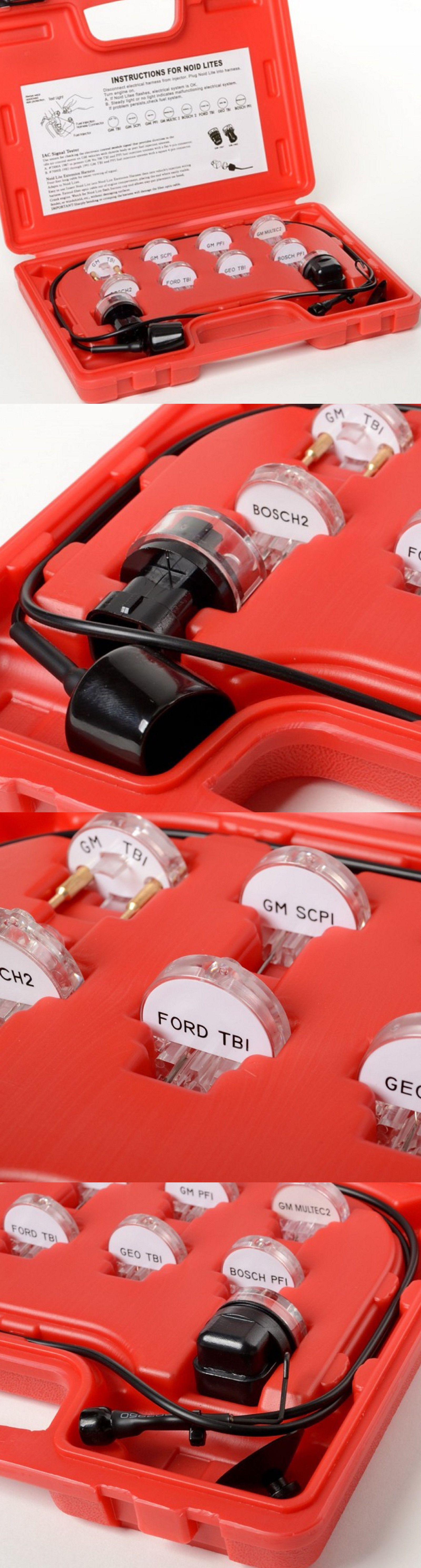 how to test fuel injectors with test light