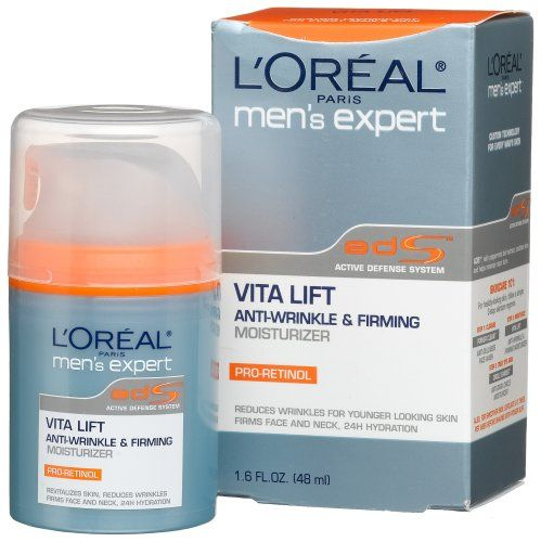 Loreal Mens Expert Vita Lift Anti Wrinkle And Firming Moisturizer 1 6 Oz Pack Of 3 This Is An Amazo Firming Moisturizer Moisturizer Face Products Skincare