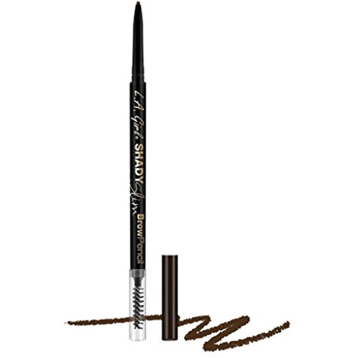 LAGirl Shady Slim Brow Pencil  Pcs  Espresso  Learn more by