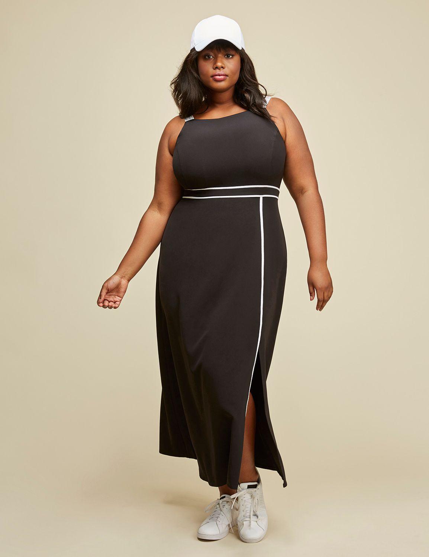 01f4a09ae9125 Apron Dress by GLAMOUR X LANE BRYANT