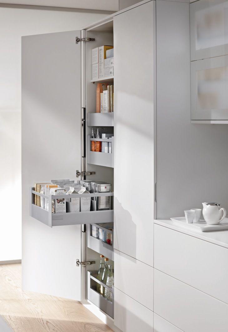 Blum Voorraadkast Keuken Met Handige Indeling Legrabox Moderne