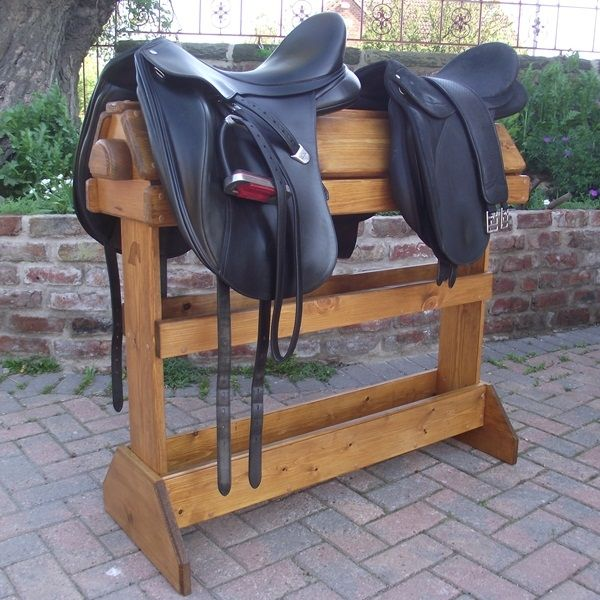 How To Make Horse Saddle Stand DIY Project Homesteading - The Homestead Survival .Com