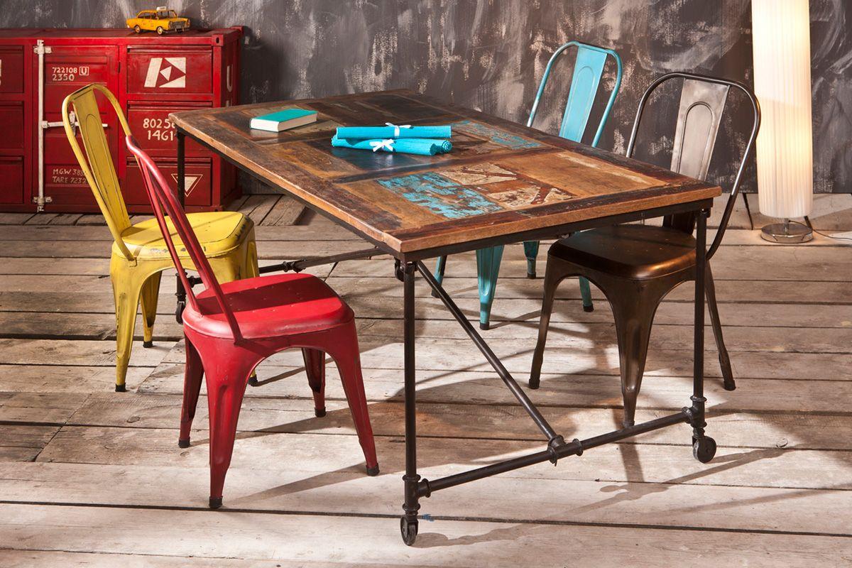 Vente VINTAGE CASUAL / 20986 / Séjour / Tables / Table Cofy - Naturel