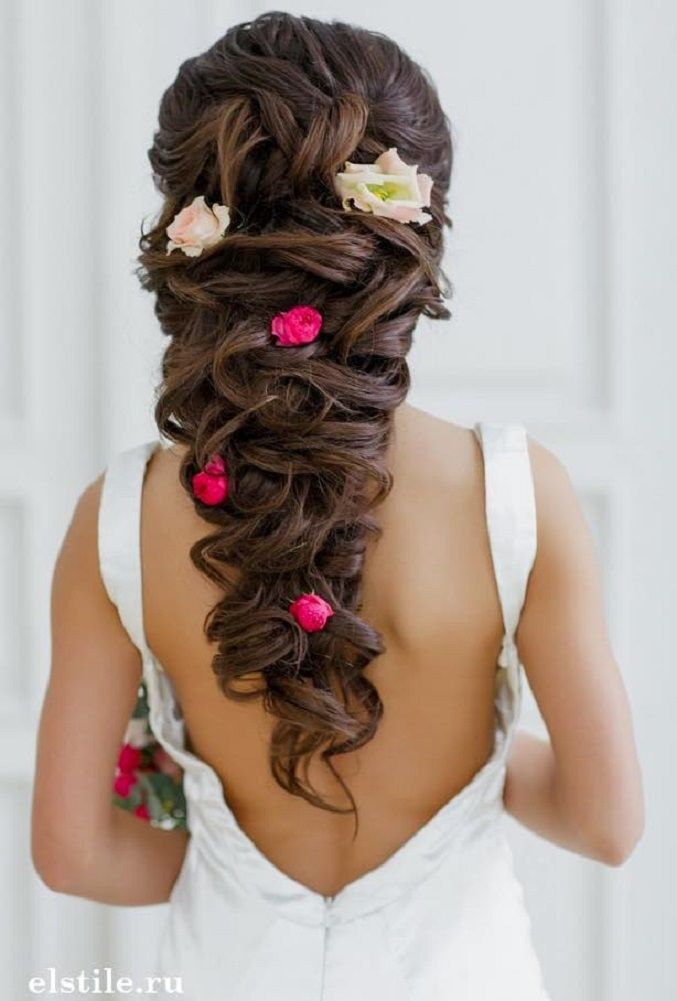 Beautiful Bridal Hairstyle For Long Hair: Beautiful Bridal Hairstyle For Long Hair To Inspire You