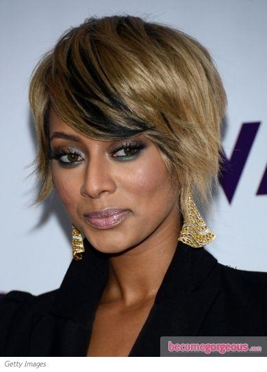 Keri Hilson's new shaggy haircut | Celebrity hairstyles | Short hair with bangs, Cute hairstyles ...
