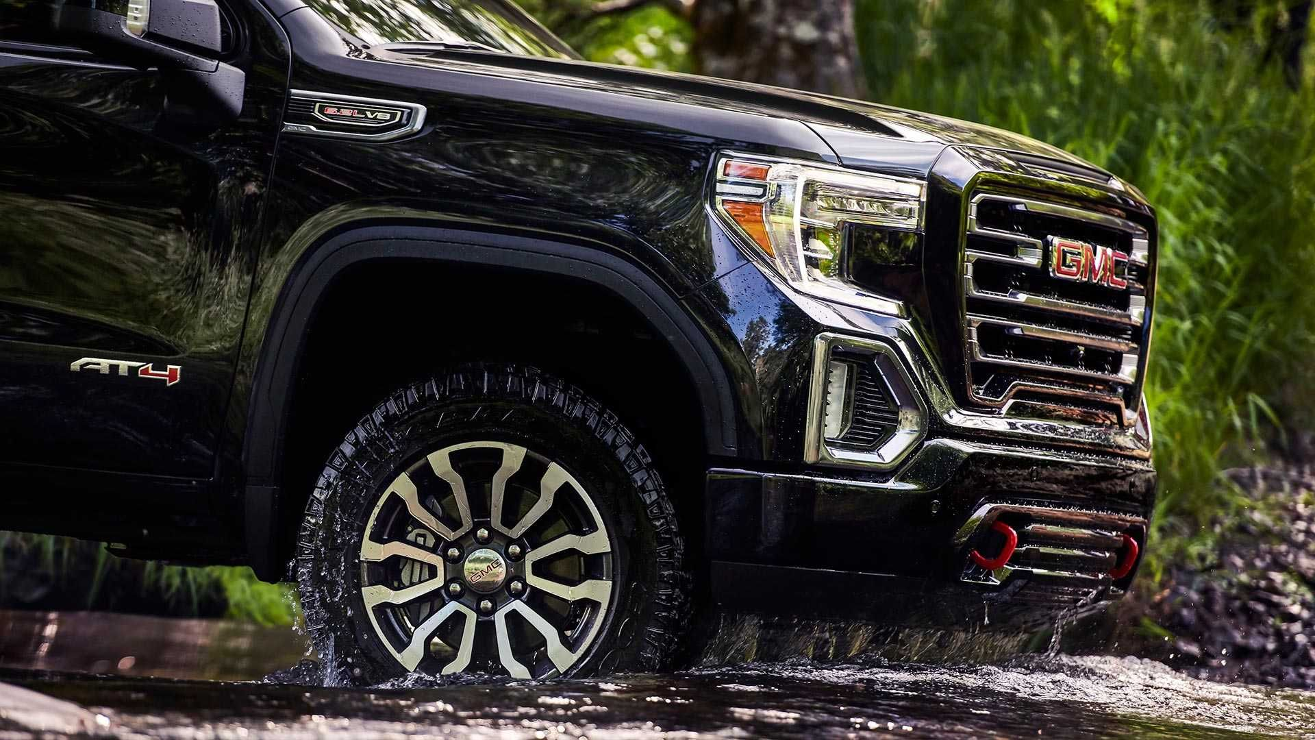 The New Off Road Performance Package For The 2019 Gmc Sierra At4 Amps The Truck S 6 2 Liter V8 With A Performance Air Intake And Gmc Sierra Gmc Gmc Sierra 1500